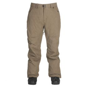 Mn Aurora Pant - Insulated - Military Waxed Twill - L