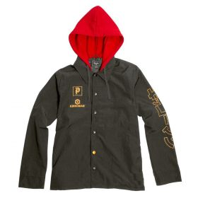 PA119109 Primitive Soy Two Fer Jacket - Black