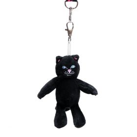 RND4225J Lord Jermal Mini Plush Key Chain - Black - OS