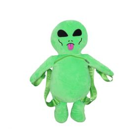 RND4617 Lord Alien Plush Backpack - Green - OS