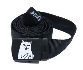 RND4798 Lord Nermal Web Belt - Black - OS