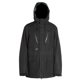 Mn Bonebrake Jacket - Black Wash Out - L