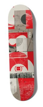 Deck Chocolate - Anderson (Red) Deck - 8.25'' X 31.875'' X 14''  WB CB4122G052
