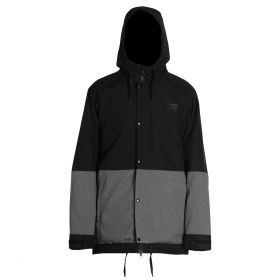 Mn Crusher Jacket - Black/Grey Melange - L