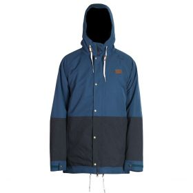 Mn Crusher Jacket  - Petro/Navy Melange - L