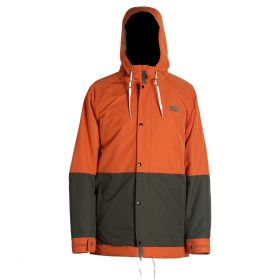 Mn Crusher Jacket  - Terracotta/Darkpine - L