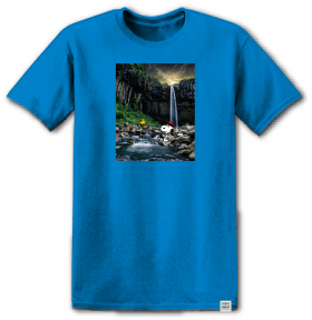 TS short sleeve Element - W1SSO6 Peanuts Adventure Ss - Imperial Blue