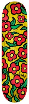 Boards Krooked - Team Wild Style Flowers - 8.25