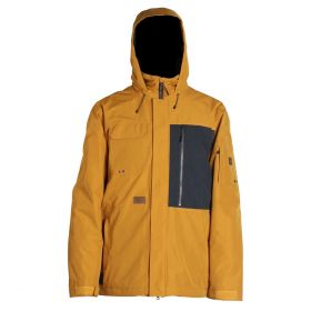 Mn Lexicon Jacket - Shell - Dark Gold - L