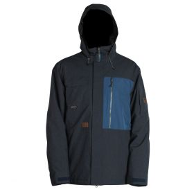 Mn Lexicon Jacket - Insulated - Navy Melange - L