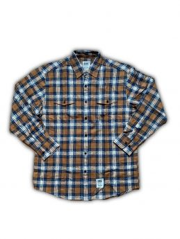 Shirt Dse - Lumber Shirt - Brown Check