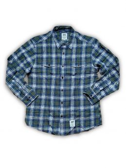 Shirt Dse - Lumber Shirt - Green Checks