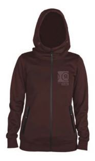 Wm Off Set Softshell - Wine - M