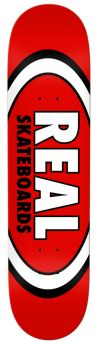 "Boards Real  - Team Classic Oval 8.12"""" - 8.12"""