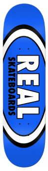 "Boards Real  - Team Classic Oval 8.5"""" - 8.5"""