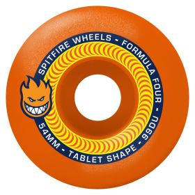 Wheels Spitfire - F4 99 Tablet Neon Orange 54