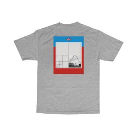 T-Shirt Visual - Squared Tee - Heather Gray -